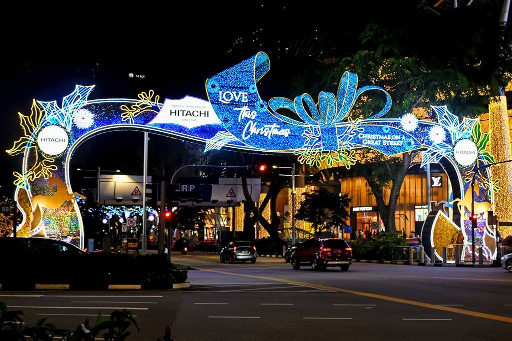 Orchard Road Christmas Light-Up 2020