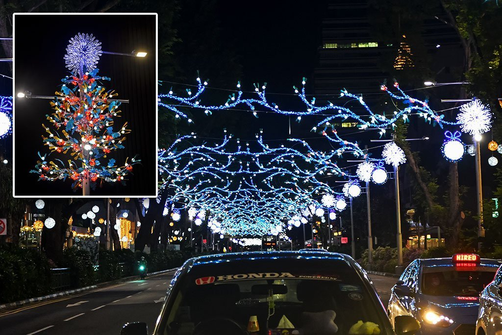 Orchard Road Christmas Decorations 2020 / 乌节路圣诞灯饰
