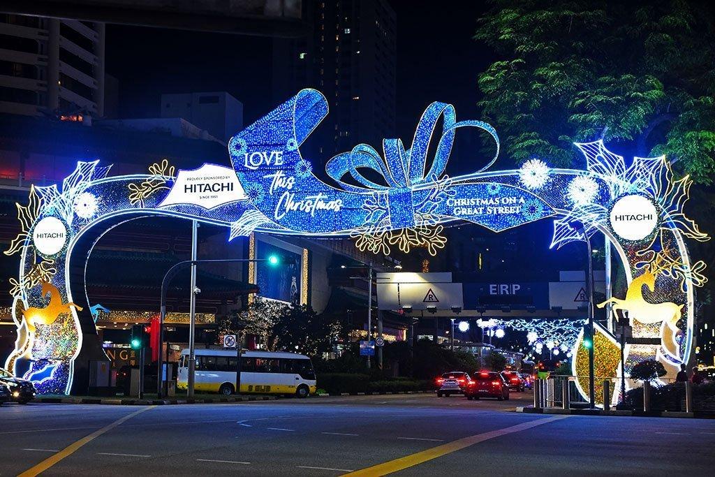 Singapore Christmas Lights 2020.