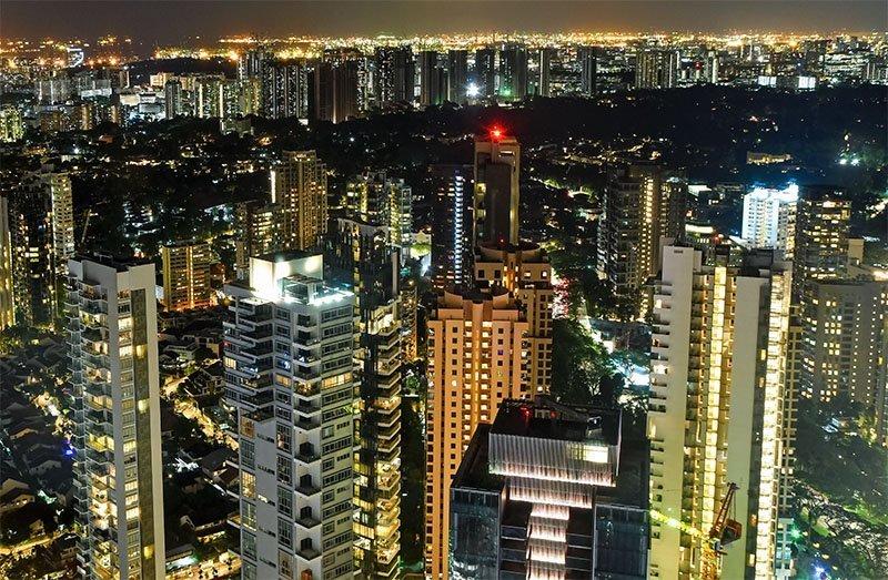 Singapore Cityscape.
