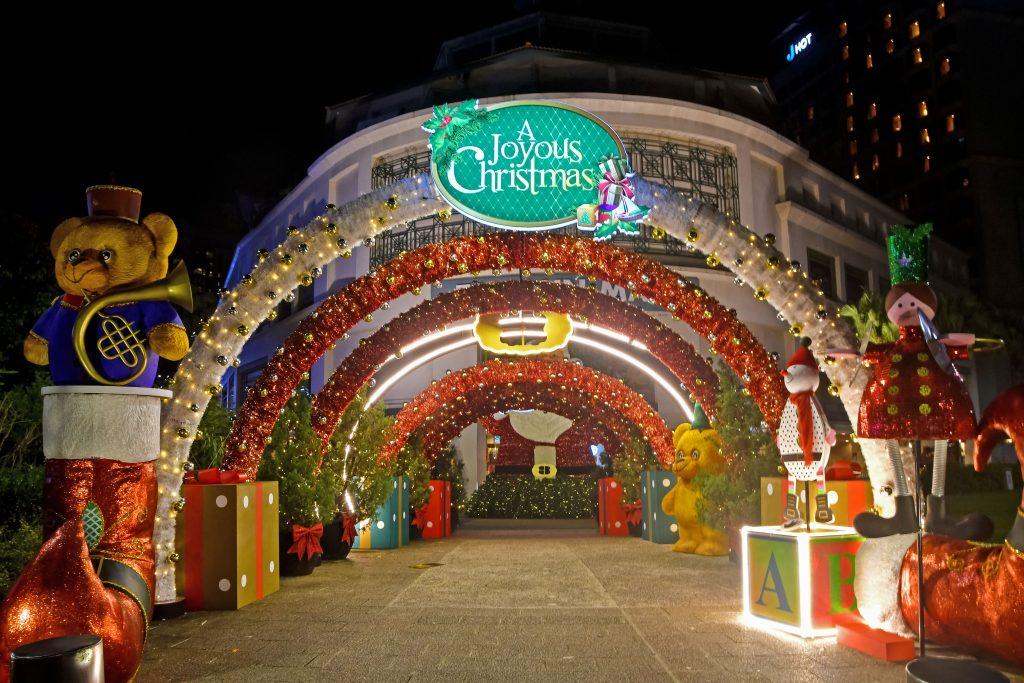 Tanglin Mall Christmas 2020.