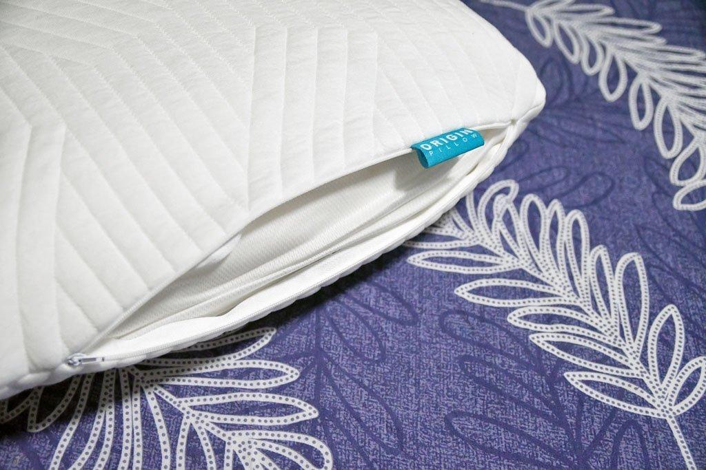 Tencel fabric pillow cover.