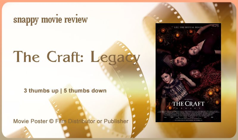 The Craft: Legacy Review