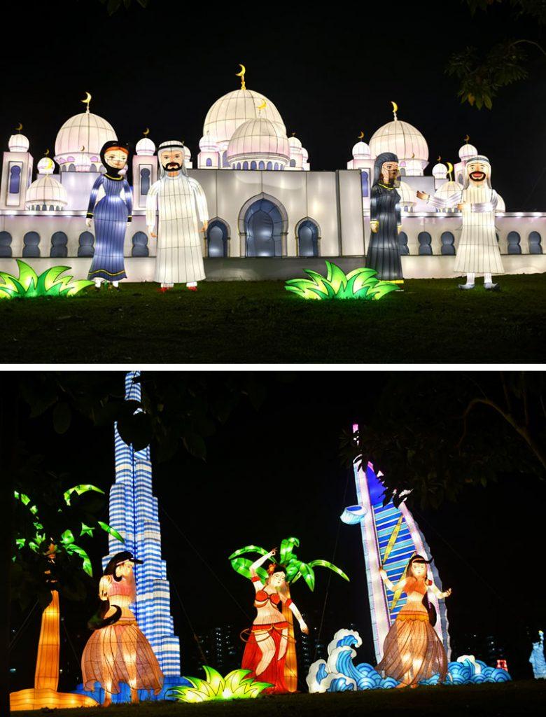 Jurong Lake Gardens Light-Up.