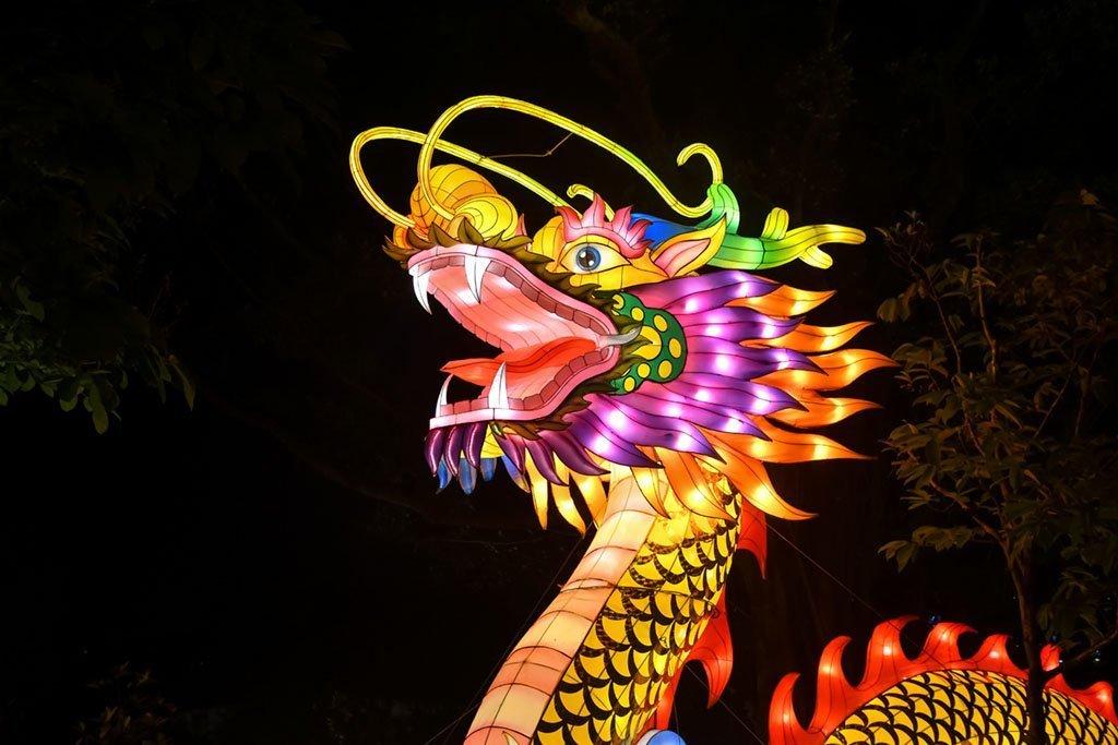 Chinese Dragon Lantern,