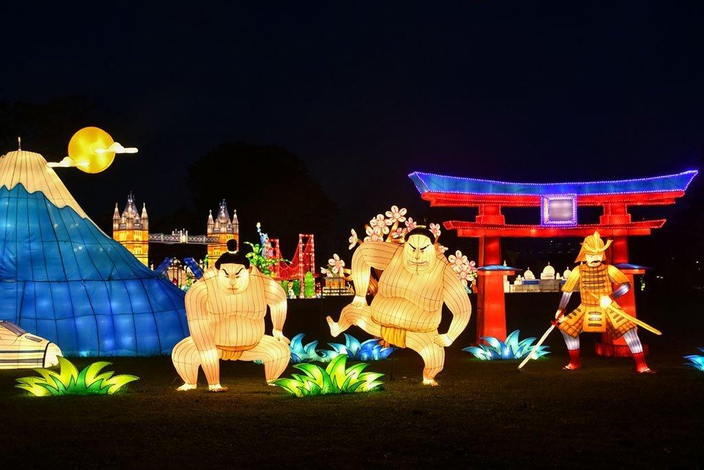 A Better Tomorrow Festival of Lights 2020 | Jurong Lake Gardens.
