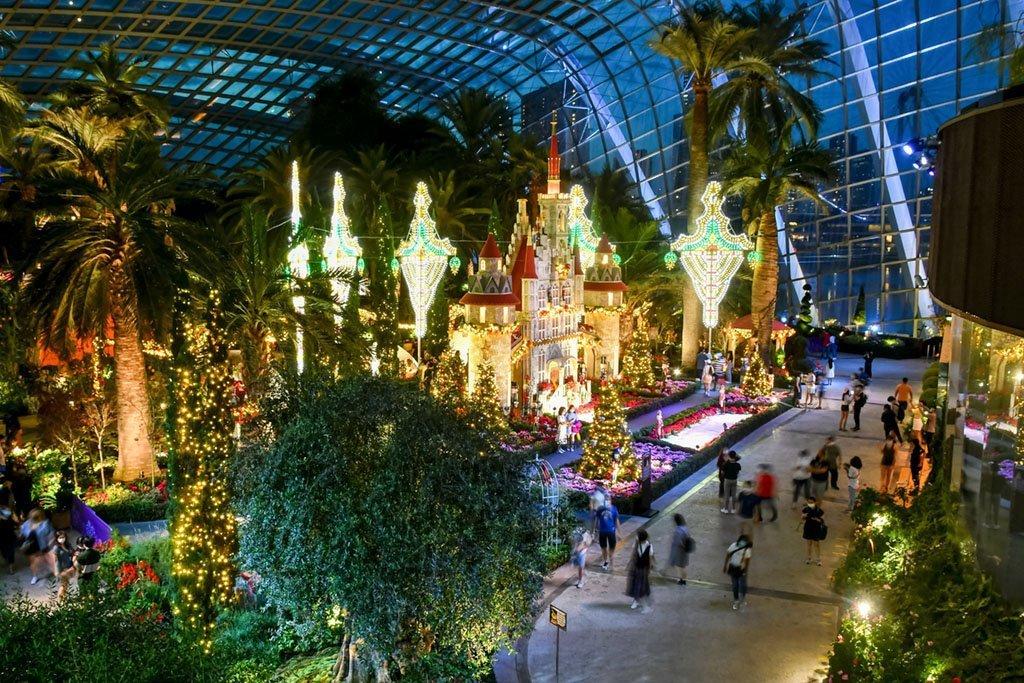 Flower Dome Christmas 2020.