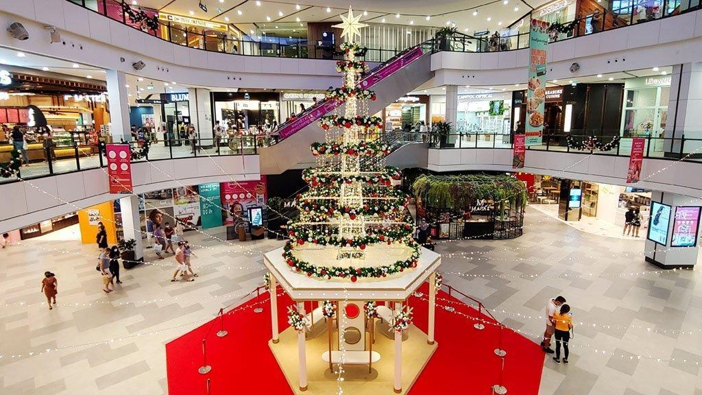 Great World City Christmas Tree 2020.