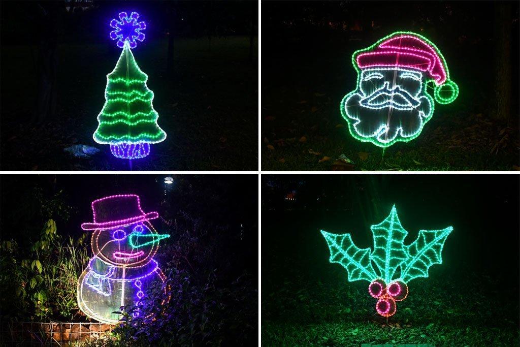 Jurong Lake Gardens Christmas Lights.