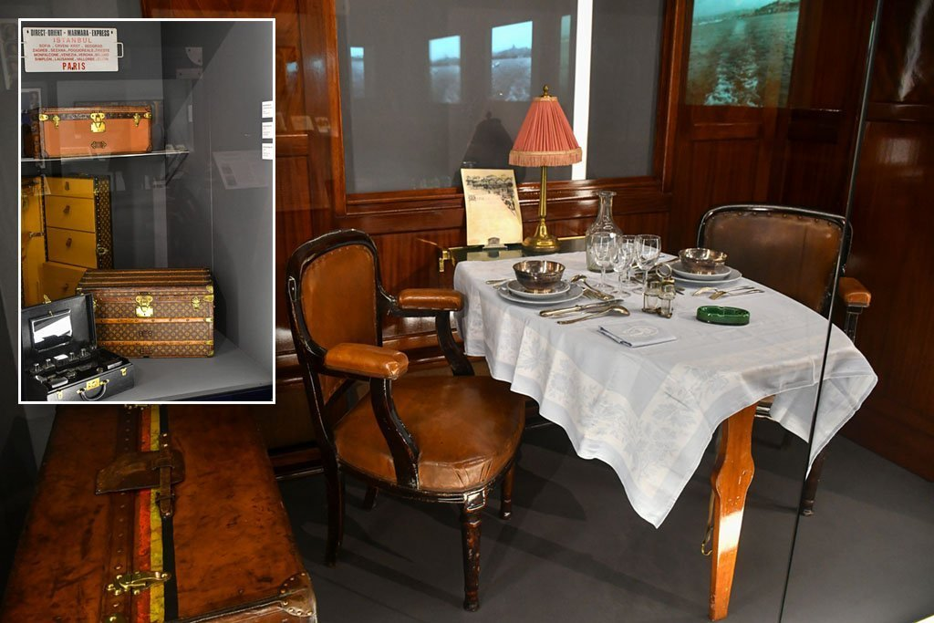 Orient Express History Exhibition.