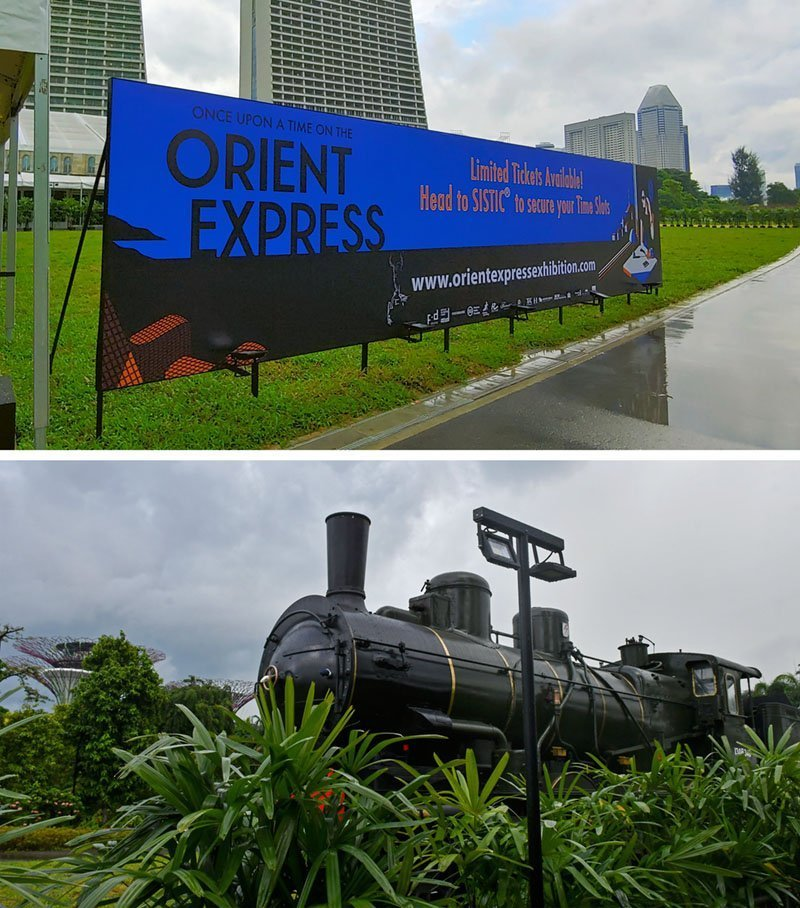 Gardens by the Bay Events December 2020.
