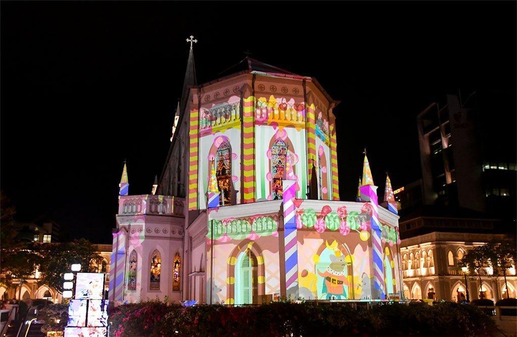 Singapore Christmas Decorations 2020