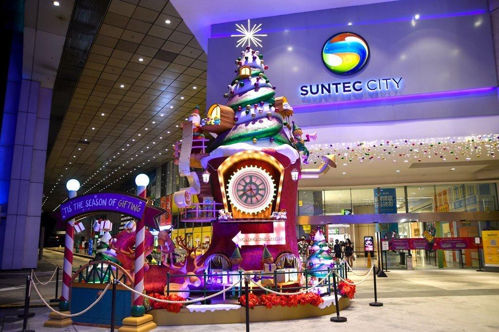 Suntec City Christmas 2020.