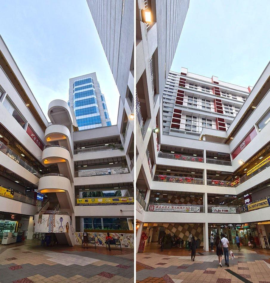 Bras Basah Complex Atrium