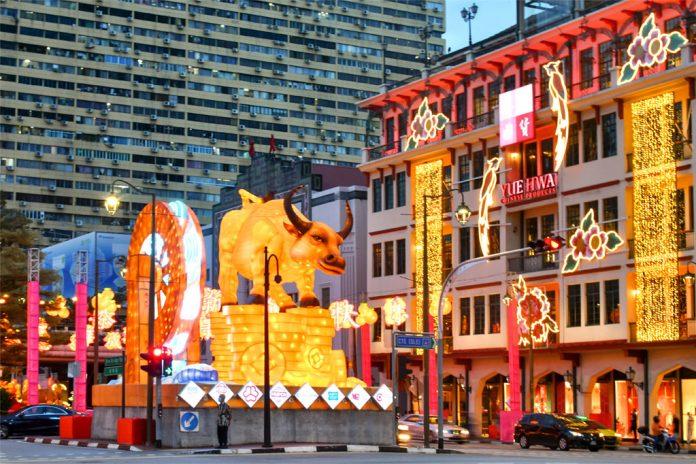 Chinatown Chinese New Year 2021 Light-Up