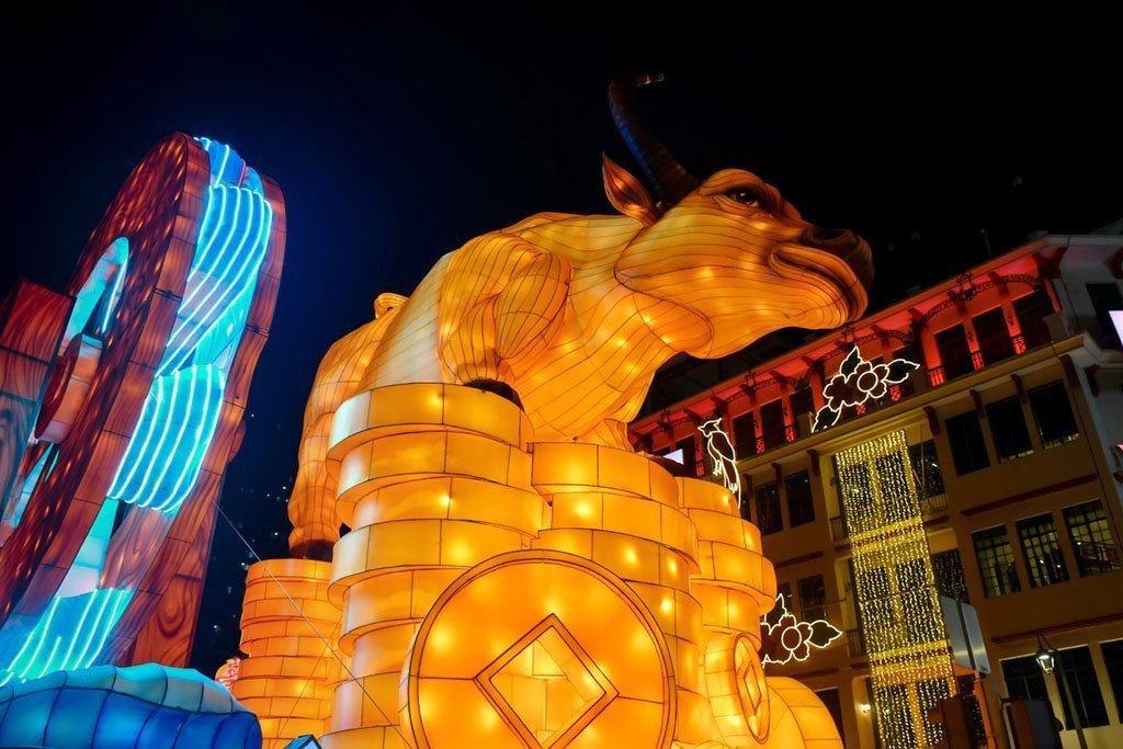 Chinese New Year at Chinatown.