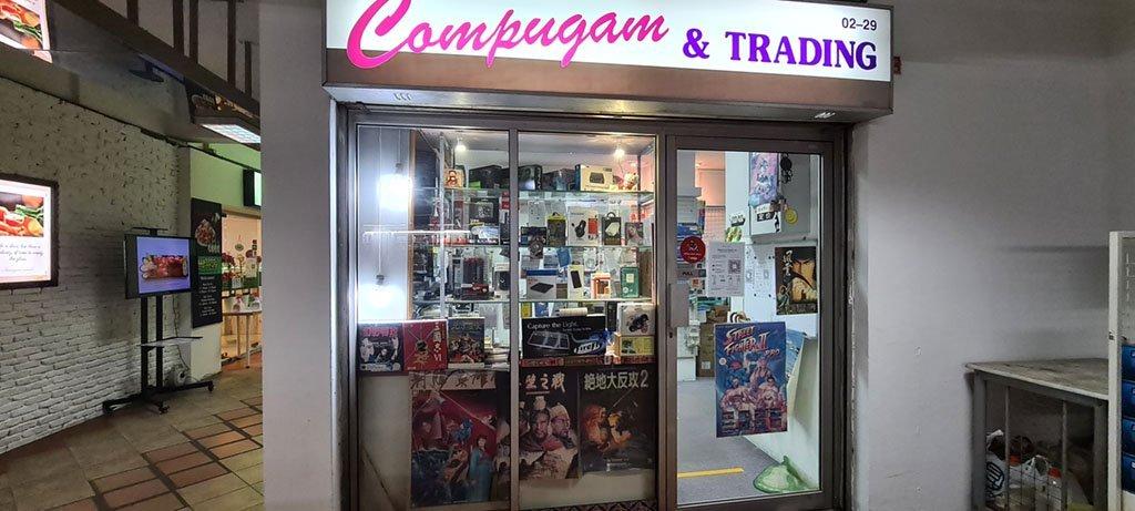 Compugam and Trading.