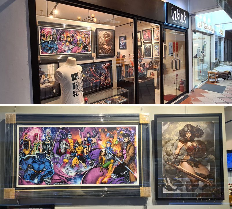 Inkink Collectibles, Singapore.