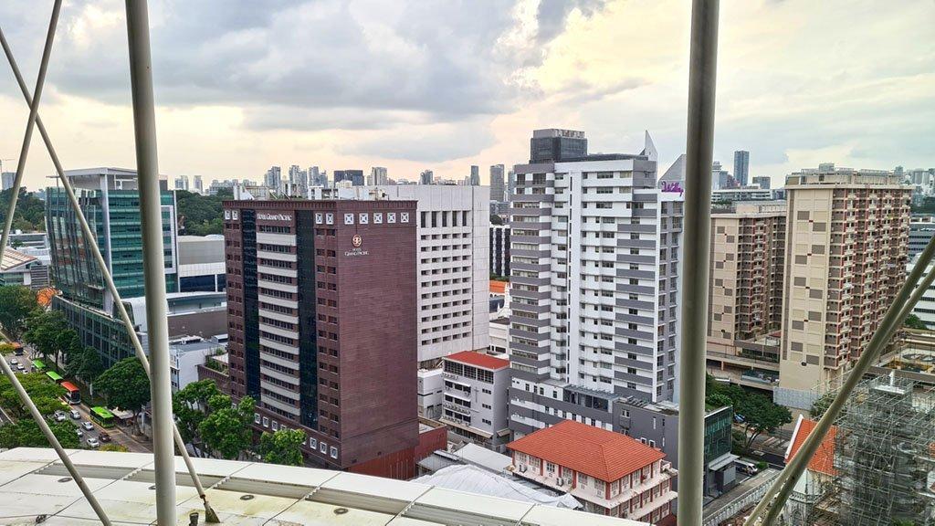 Singapore Building Architecture.