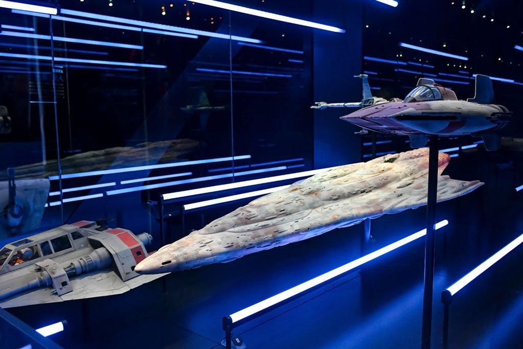 ArtScience Museum Star Wars Identities Exhibition.