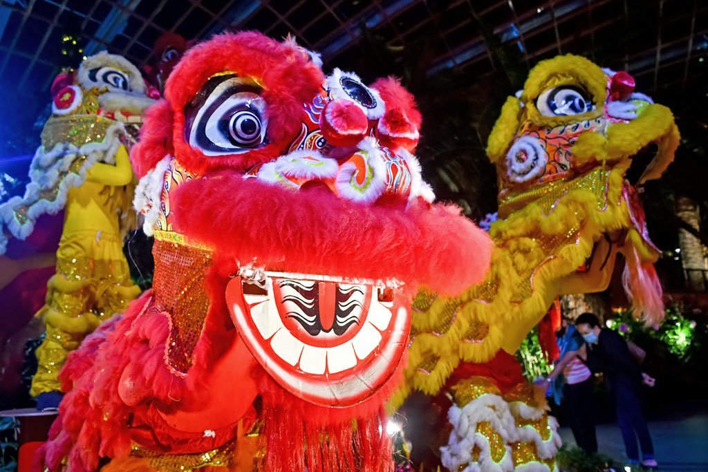 Chinese Nian Monster