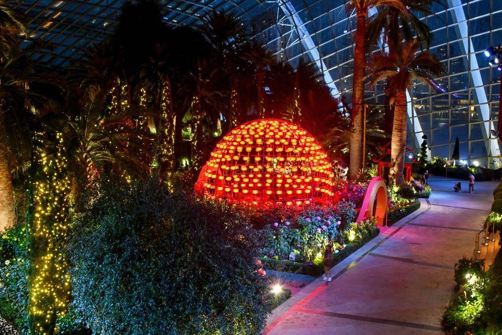 Dahlia Dreams 2021 at Gardens by the Bay