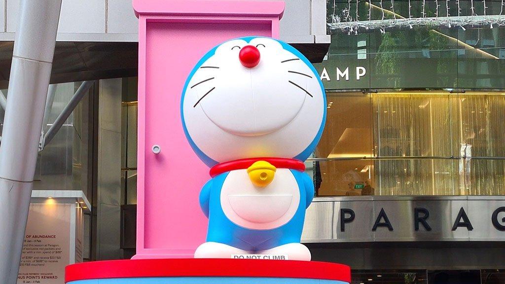 Doraemon Doko Demo Door Singapore