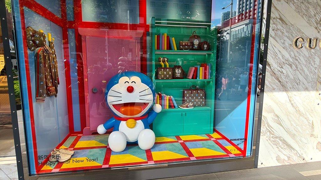 Doraemon Gucci Store