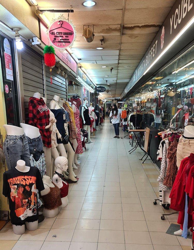 Golden Mile Complex Clothes Stores