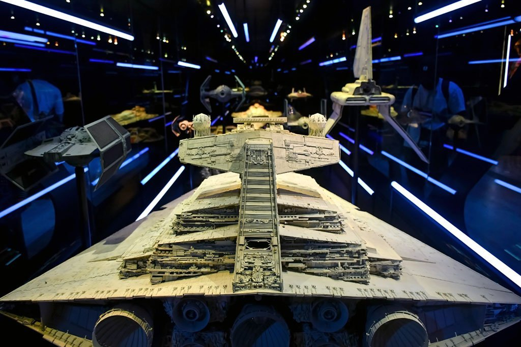 Star Wars Singapore Exhibition 2021.