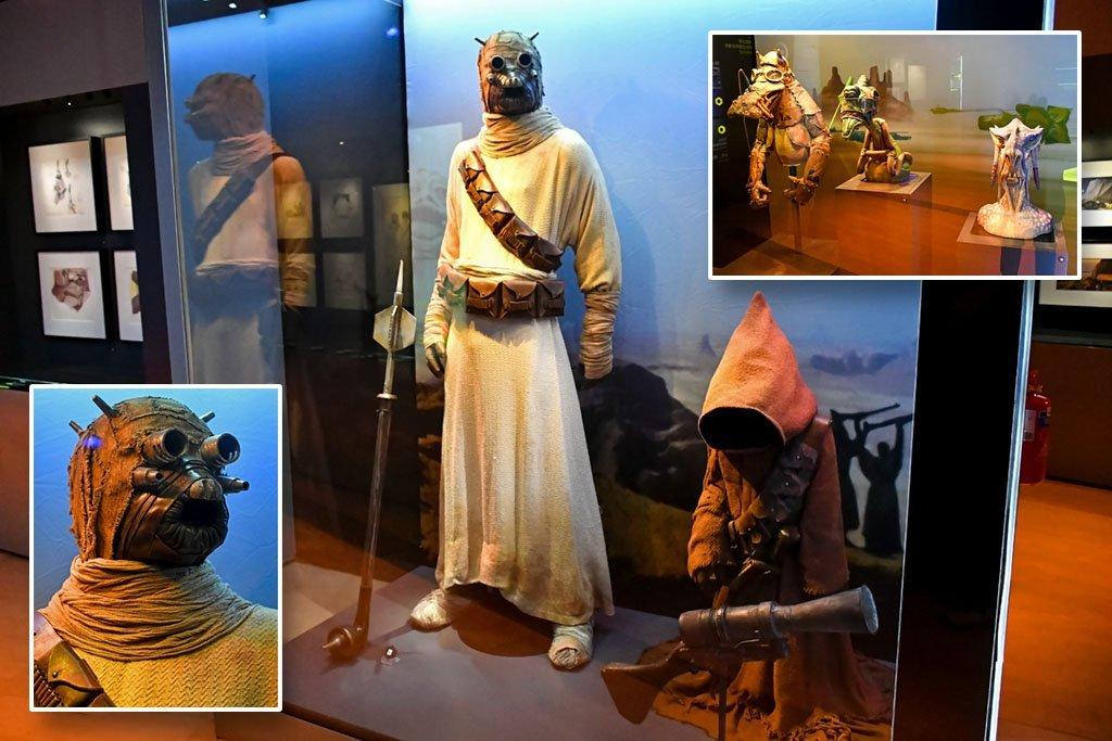 Star Wars Exhibition Singapore.