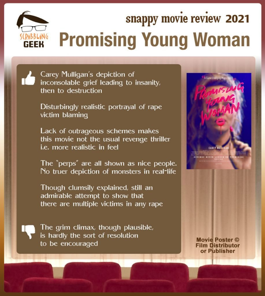 Promising Young Woman Review: 5 thumbs-up and 1 thumbs-down