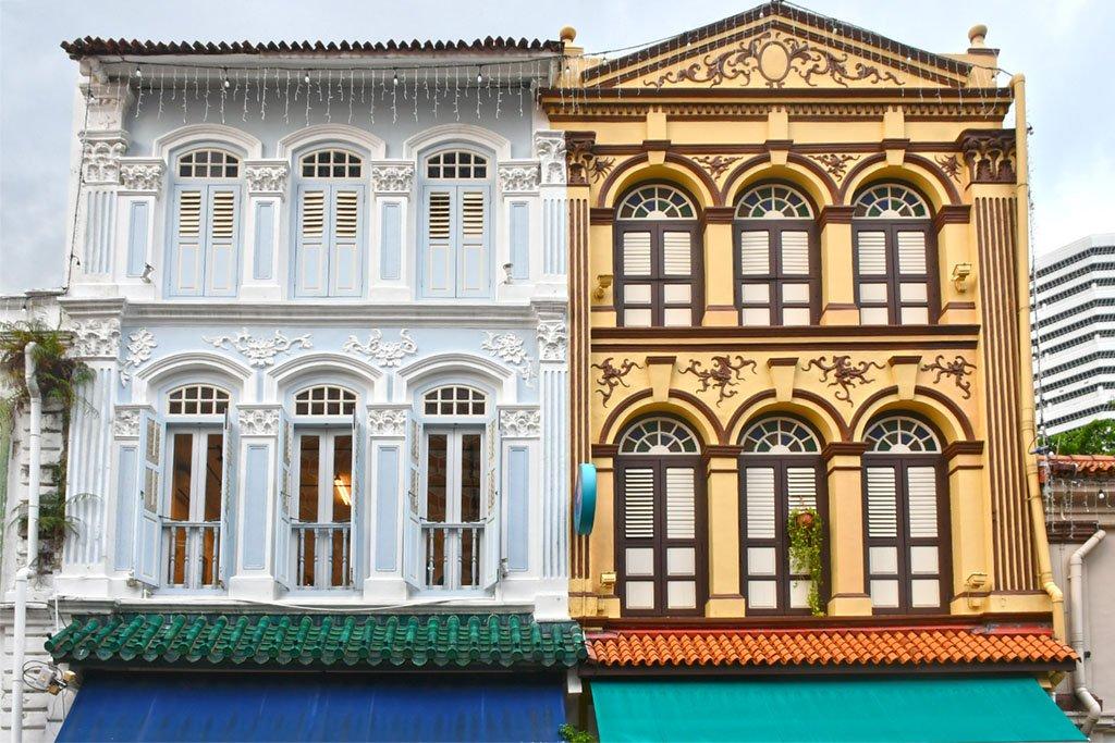 Arab Street Shophouses
