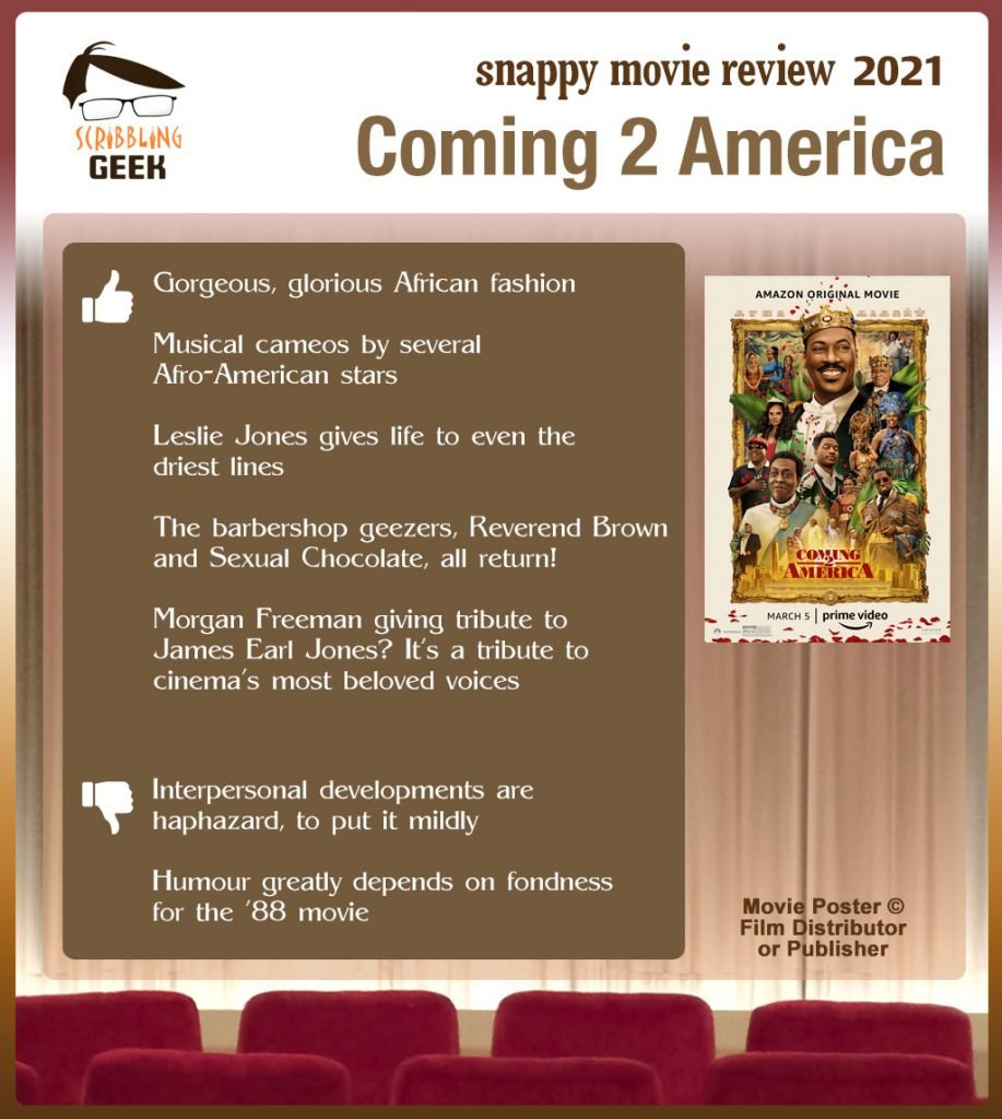 Coming 2 America movie review: 5 thumbs-up and 2 thumbs-down
