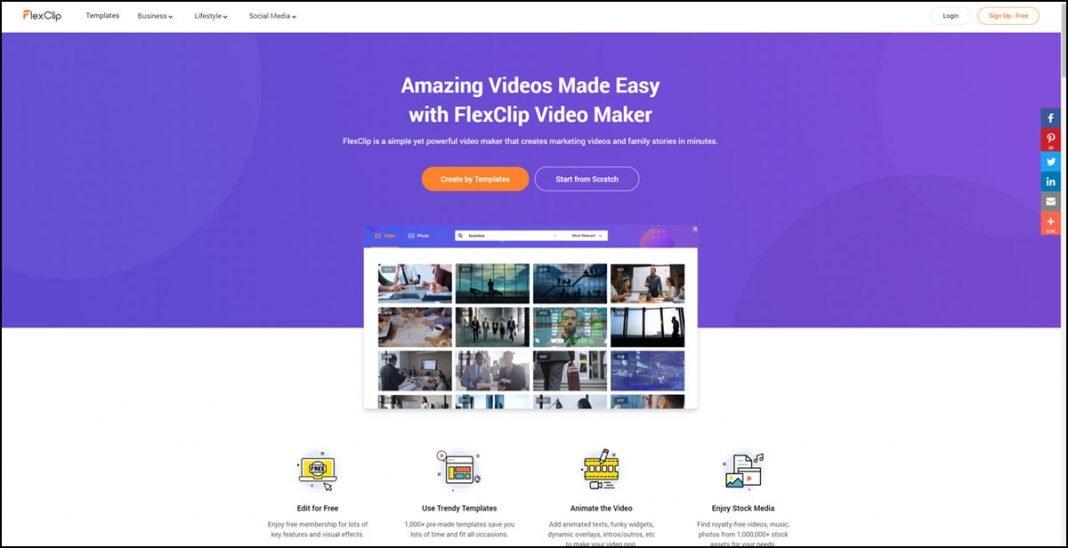 FlexClip Free Online Video Maker Review