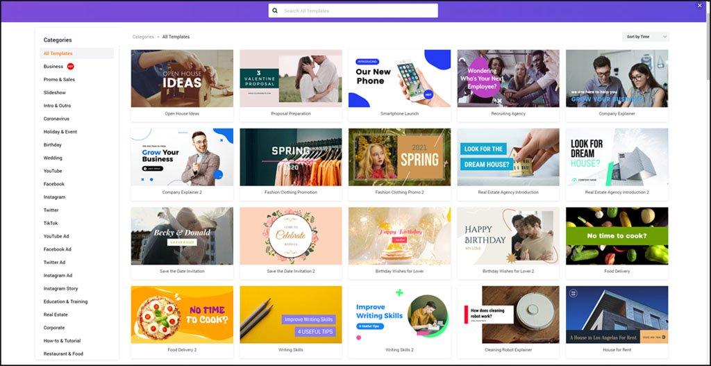 FlexClip Ver 2.0 Templates