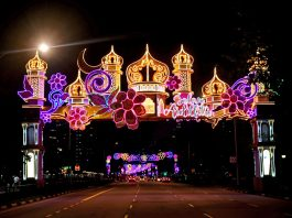Geylang Serai Light Up 2021