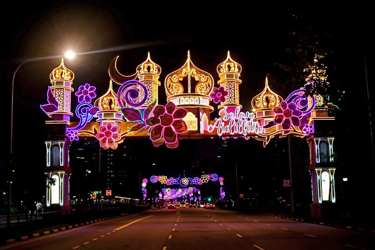 Geylang Serai Festive Light-Up 2021