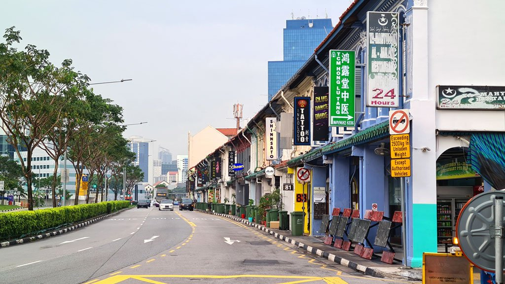 Kampung Bahru Road Shophouses