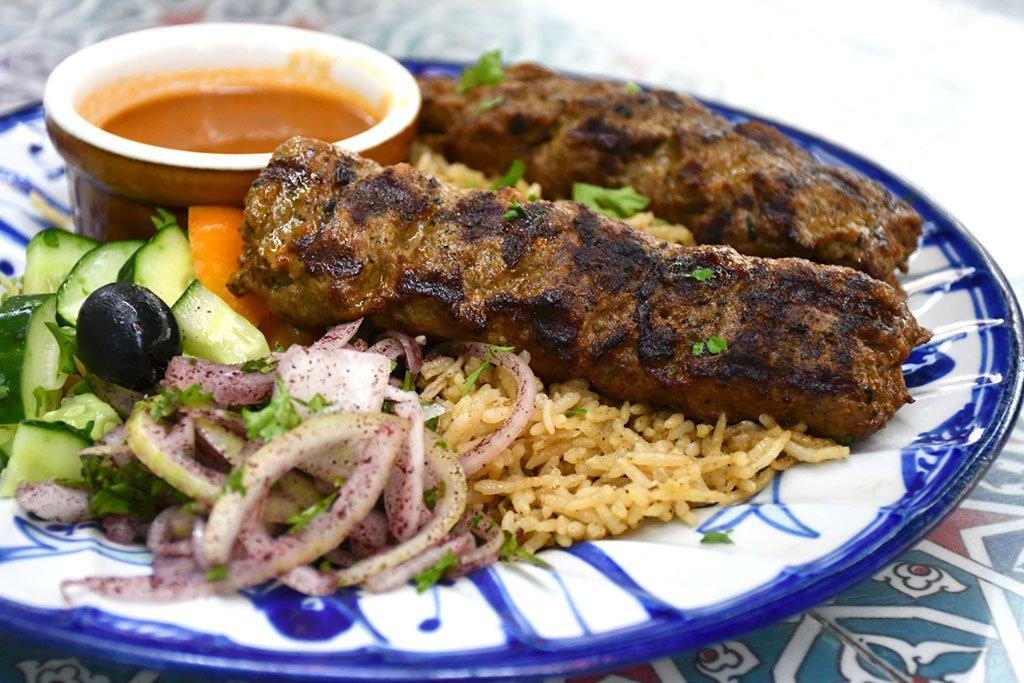 Nasrin Restaurant Lamb Kofta