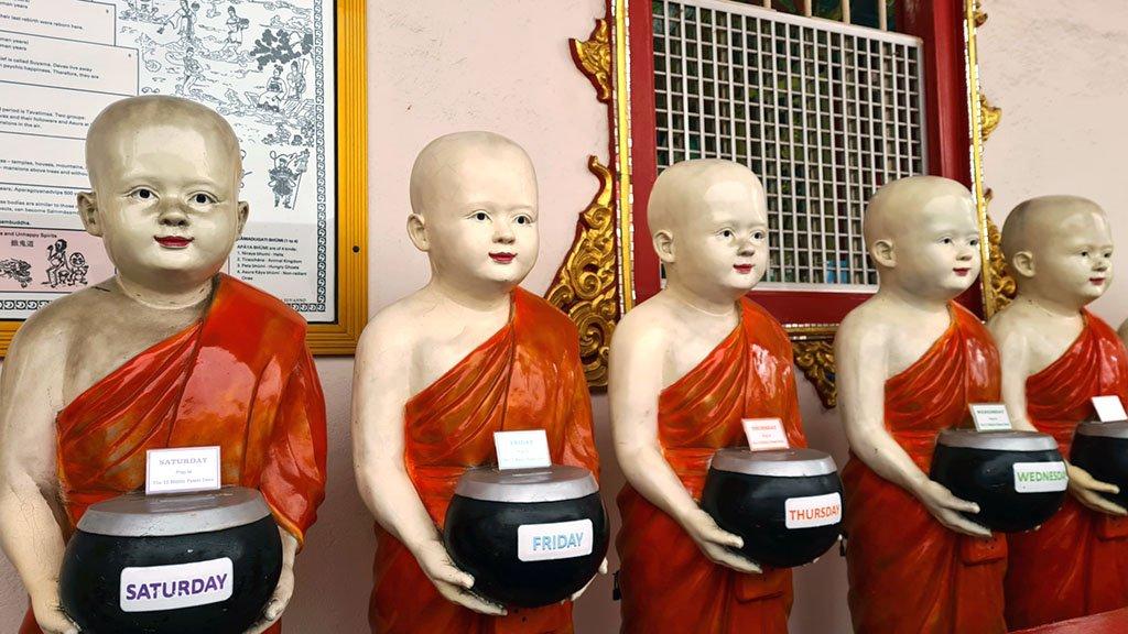 Thai Buddhist Temple in Singapore.