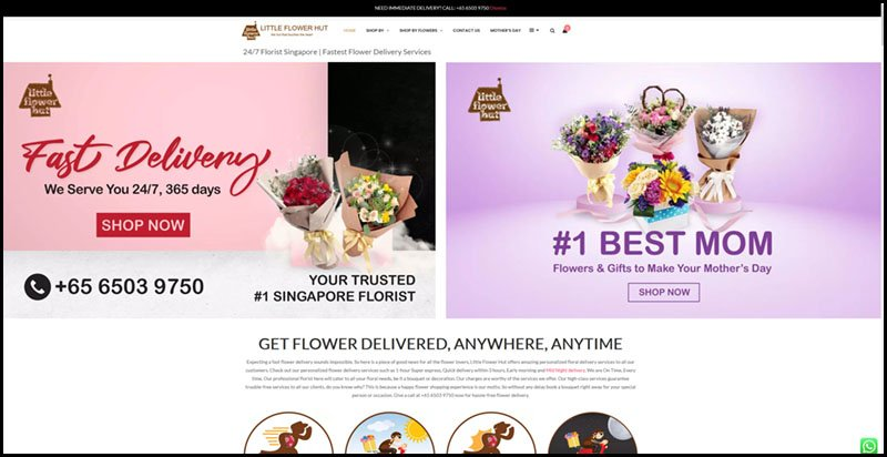 Express Flower Delivery Singapore