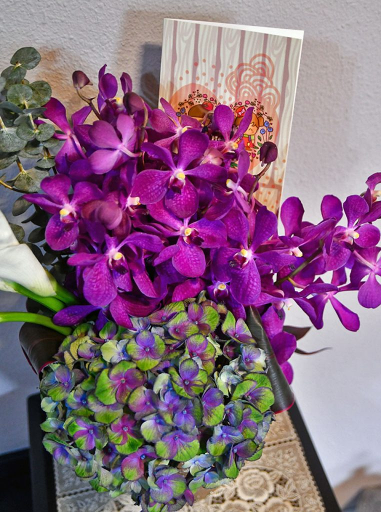 Flower Arrangement by Little Flower Hut