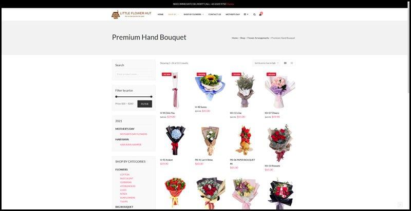 Online Flower Shop Singapore