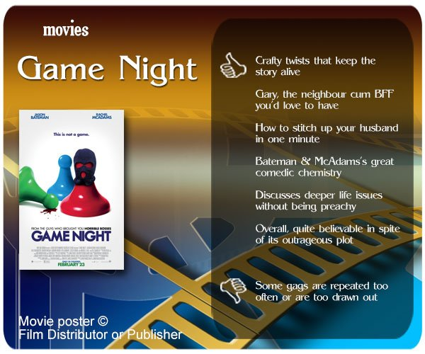 Game Night Review: 6 thumbs-up and 1 thumbs down.