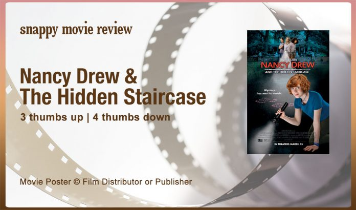 Nancy Drew and the Hidden Staircase Review