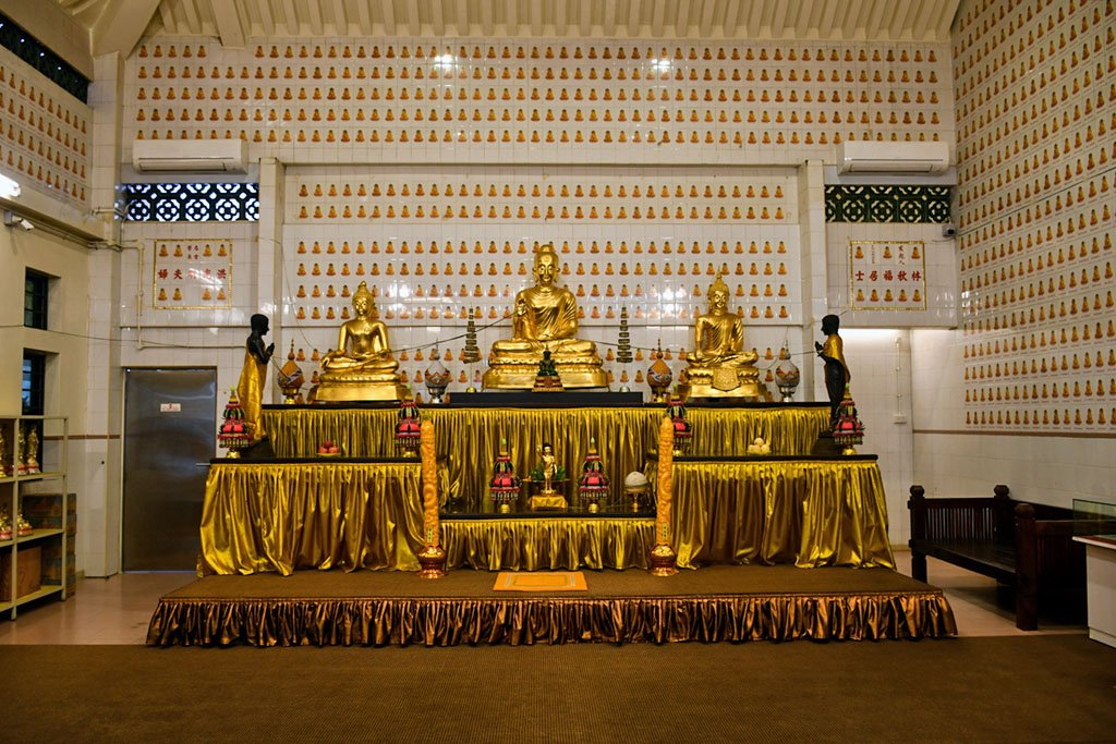 Lord Buddha Temple Prayer Hall