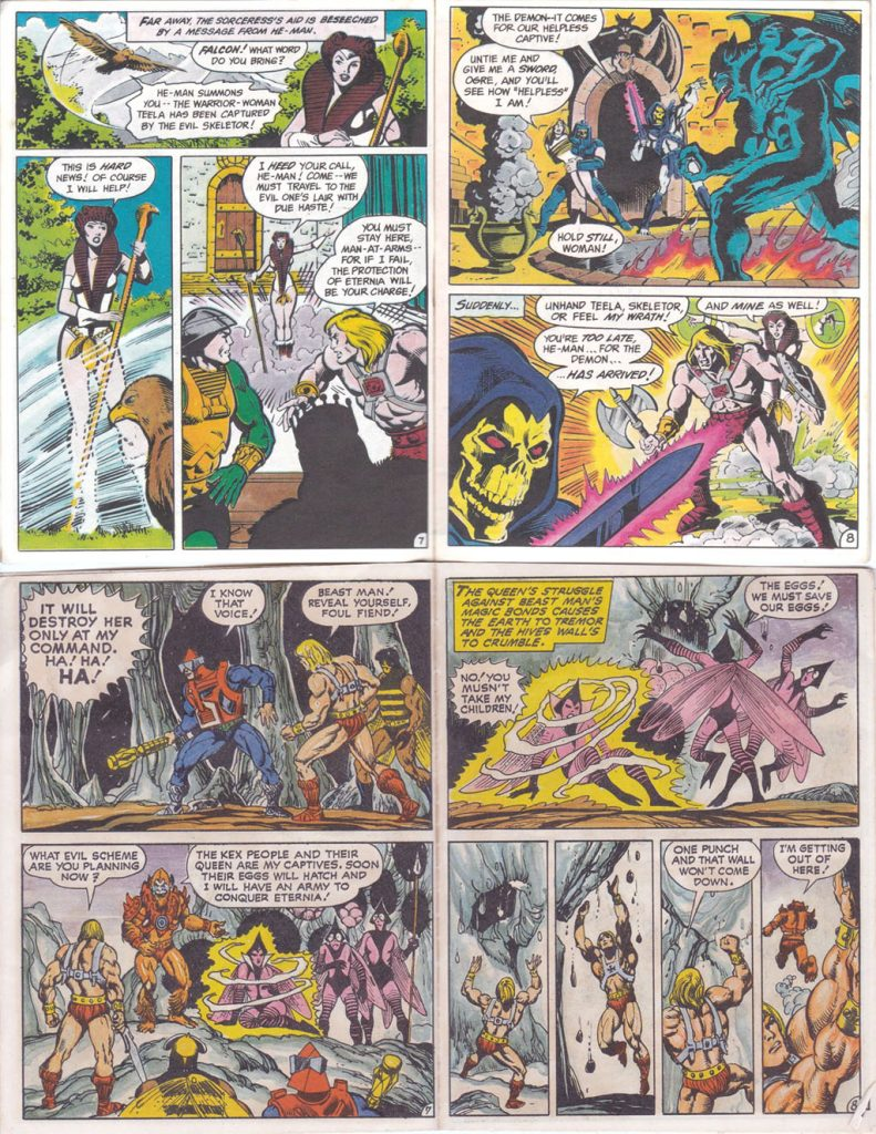Masters of the Universe 80s Comics