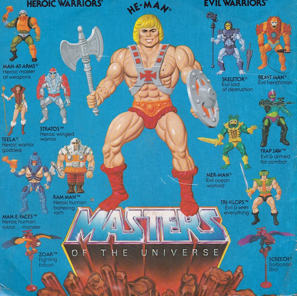 Masters of the Universe 80s Toy Series