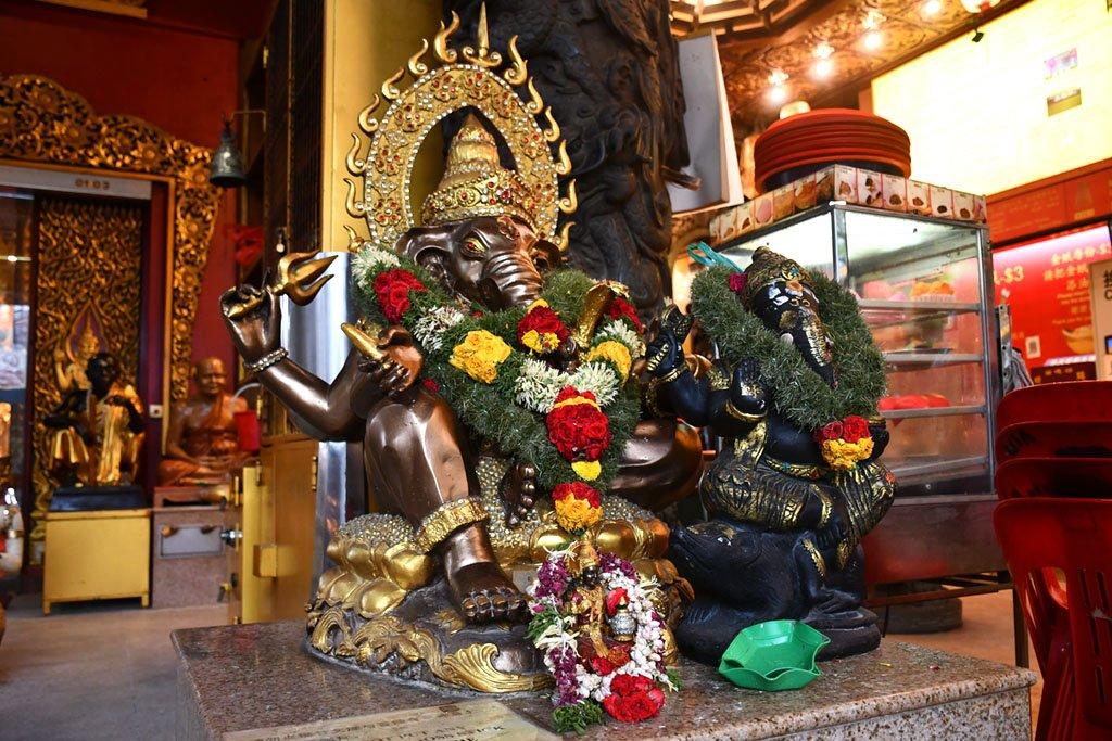 Ubin Thai Buddhist Temple Ganesha Shrine